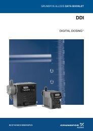 Grundfos Alldos DDI 209-222 Data Booklet - WES Dosing Products