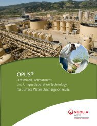 OPUS® - Veolia Water Solutions & Technologies
