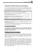 Senkgruben; Befundvorlage und Ausbringung - Seite 5