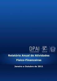 Relatório de Atividades Físico-Financeiras UEMS 2011