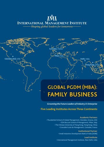 Download Brochure - International Management Institute