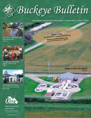 Ohio Water Environment Association | Volume 85:1 | Issue 1 2012 ...