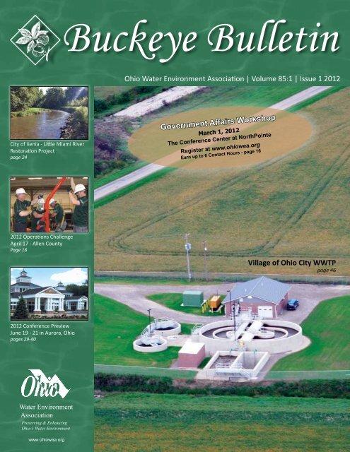 Ohio Water Environment Association | Volume 85:1 | Issue 1 2012 ...