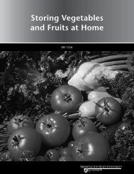 Storing Vegetables and Fruits at Home