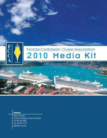 Media Kit - The Florida-Caribbean Cruise Association