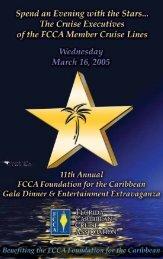 FCCA Foundation for the Caribbean - The Florida-Caribbean Cruise ...
