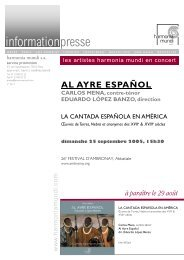 2413 Al Ayre.pub - Harmonia Mundi