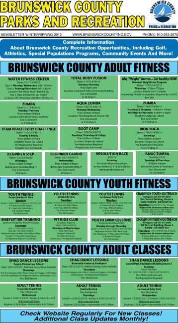 BRUNSWICK COUNTY PARKS AND RECREATION