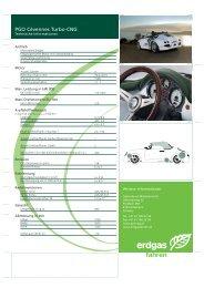 PGO Cévennes Turbo-CNG - Erdgasfahren
