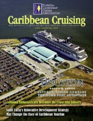 Quarterly Magazine - The Florida-Caribbean Cruise Association