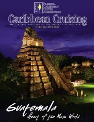 FCCA CAribbean Cruising Magazine - The Florida-Caribbean ...