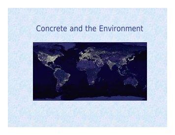 Concrete and the Environment - Modern Prepper