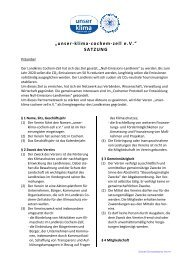 Vereins-Satzung - Cochem-Zell Bioenergie