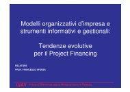 Modelli organizzativi d'impresa e strumenti informativi e gestionali ...