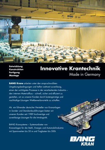 Download (PDF 857 kB): Unser Informationsflyer - BANG Kransysteme