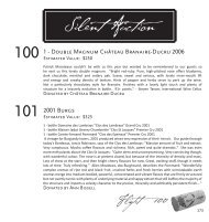 Grand Tasting Silent Auction - Heart's Delight Wine Tasting and ...