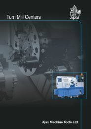 Live Tooling Brochure - Ajax Machine Tools