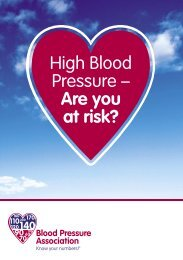 High Blood Pressure – Are you at risk? - Good Food & Health