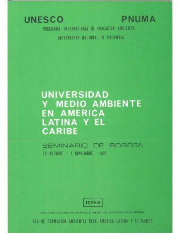 UNESCO - Universidad y Medio Ambiente