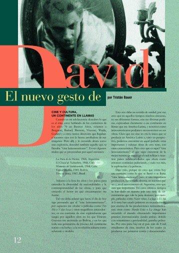 por Tristán Bauer - Fundación del Nuevo Cine Latinoamericano
