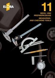 mess- und prüfwerkzeuge measuring- and checking tools - Elora