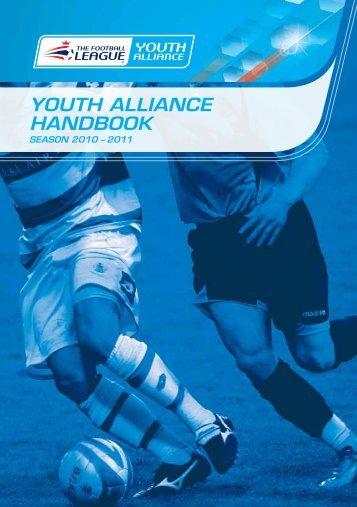 YOUTH ALLIANCE HANDBOOK - The Football Association