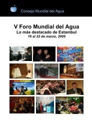 V Foro Mundial del Agua - World Water Council