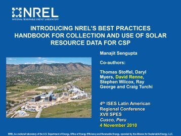 introducing nrel's best practices handbook for collection and use of ...