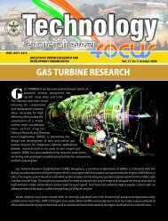Vol. 17 October 2009 No. 5 - DRDO