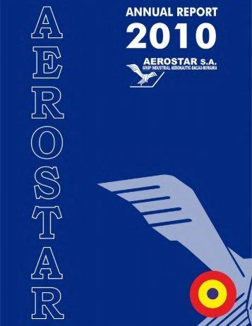 Annual Report 2010 - Aerostar S.A.
