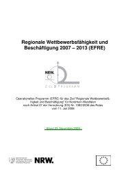 Regionale Wettbewerbsfähigkeit und Beschäftigung 2007 – 2013 ...