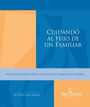 CUIDANDO AL HIJO DE UN FAMILIAR - Bet Tzedek