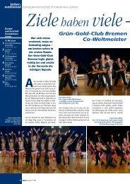 Grün-Gold-Club Bremen Co-Weltmeister
