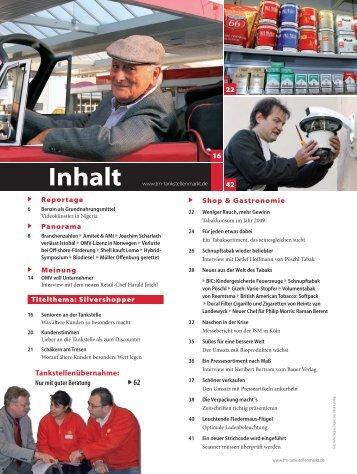 Inhalt - Tankstellen-Markt