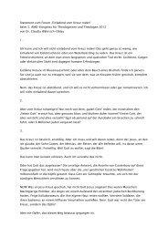 """Statement zum Forum """"Einladend vom Kreuz reden"""" beim 5. AMD ..."""