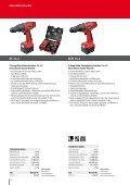 Akku-Bohrschrauber und Bohrhämmer von FLEX. - Seite 4