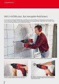 Akku-Bohrschrauber und Bohrhämmer von FLEX. - Seite 6