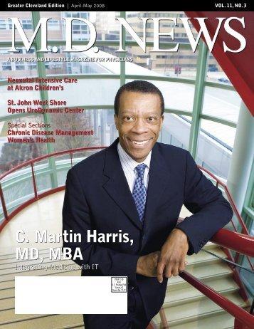 C. Martin Harris, MD, MBA - AkronCantonMDNews