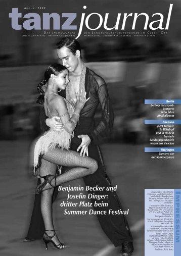 Benjamin Becker und Josefin Dinger - Deutscher Tanzsportverband ...
