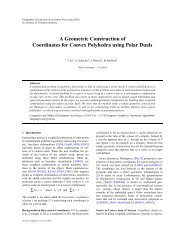 A Geometric Construction of Coordinates for Convex Polyhedra ...