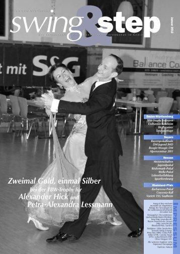 Zweimal Gold, einmal Silber Alexander Hick und Petra-Alexandra ...