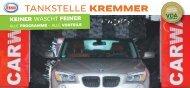 können Sie den Flyer downladen - ESSO Tankstelle Kremmer