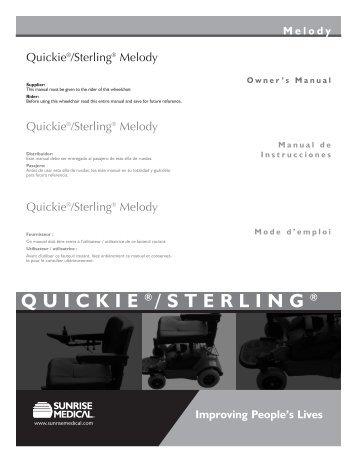 QUICKIE ® /STERLING ® - Scootaround