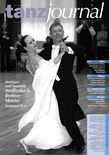 Weiffenbach, Berliner Meister - Deutscher Tanzsportverband eV