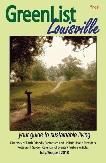 July/August 2010 - GreenList Louisville