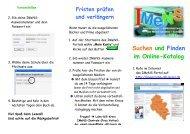 Flyer Online-Katalog - IMeNS Portal - Lahn-Dill-Kreis