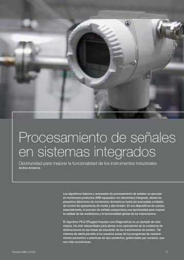 Procesamiento de señales en sistemas integrados