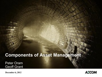 Best Practices in Asset Management - Ohiowater.org