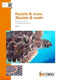 Resists & more Resiste & mehr - Kissel + Wolf GmbH