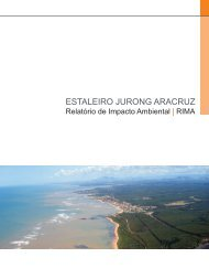 Estaleiro Jurong Aracruz - Instituto Estadual de Meio Ambiente